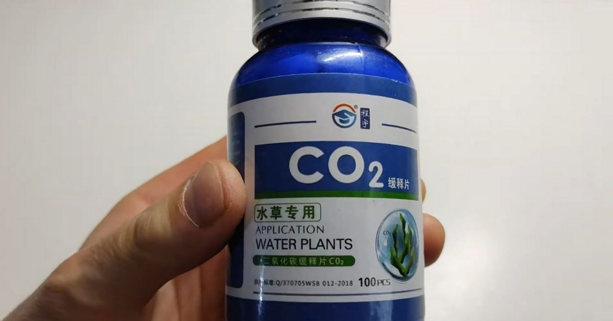 Is Co2 tablet effective in a planted tank?